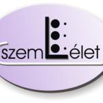 Horváthné Dunaveczki Leona tevékenységeinek hivatalos logoképe melyen a szem-l-élet felirat szerepel