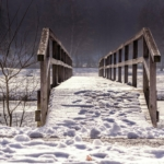 havas táj és híd
